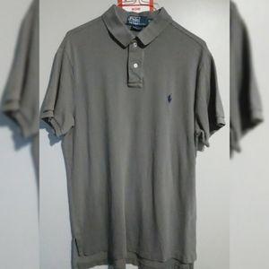 Polo Ralph Lauren Large Grey Polo T-Shirt